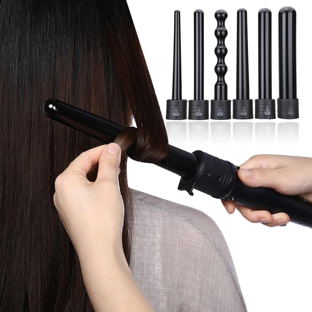 varinha curlers ferramentas de estilo de cabelo 110-240 v