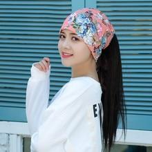Hat Beanies Sports-Caps Beach-Cap Winter Women Warm Windproof Spring Unisex Flower-Print