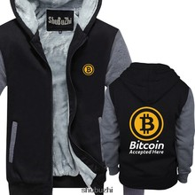 Bitcoin aceito aqui crypto moeda hoodie btc privacidade negociação lambo lua homens verão hoodies marca masculina casaco sbz3378