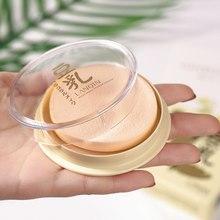 Прозрачный прессованный Порошковая слюда для лица стойкий контроль над маслом Макияж для лица водостойкий отбеливающий консилер для лица