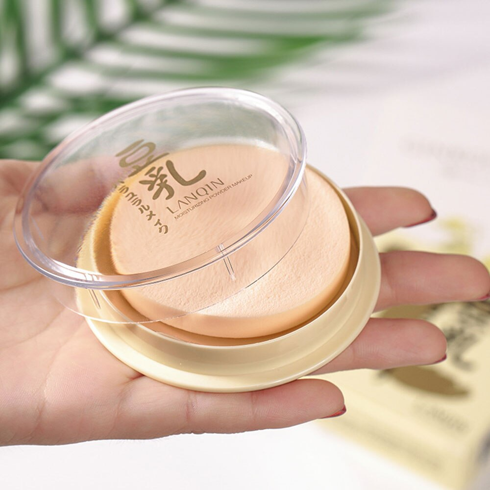 Face Transparent Pressed Powder Mica Long Lasting Oil Control Makeup Face Foundation Waterproof Whitening Skin Finish Concealer