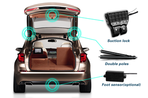 Image 4 - Better Smart Auto Electric Tail Gate Lift for Nissan X Tail 2014+ years, very good quality, free shipping!with suction lock!