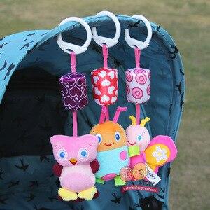 Image 3 - Baby Rammelaar Speelgoed Pluche Kinderwagen Opknoping Bell Ring Mobiles Infant Baby Zachte Crib Kids Educatief Speelgoed Voor Kinderen Gift Sozzy