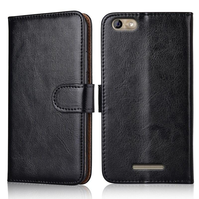 BQ 5058 Luxury PU Leather Exclusive Slip-resistant Flip wallet case for BQ BQ-5058 Strike Power Easy