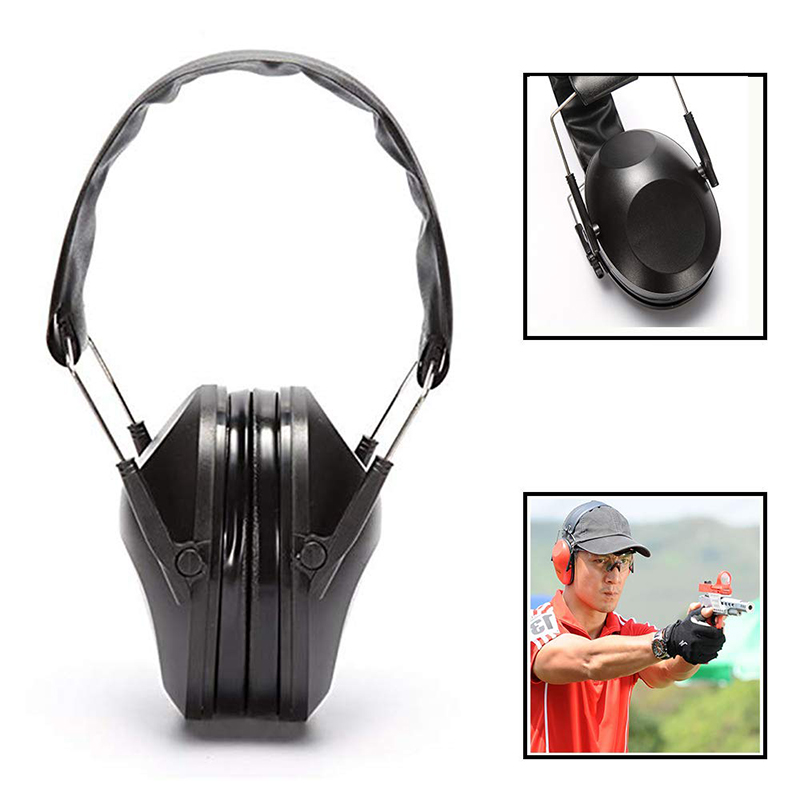 Military Tactical Earmuff Noise Reduction Hunting Shooting Headphone Anti-Noise Ear Defenders Hearing Protector Shooting Equip