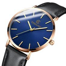 New Wrist Watch For Man Leather Strap Boss Watch Quartz Minimalistic Watch Male Watch