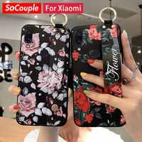 SoCouple-funda con correa para Xiaomi 9, CC9, A3 Lite, 9t, Redmi Note 9s, 8, 7 Pro, K20 Pro, 10X, carcasa de teléfono con soporte de TPU suave