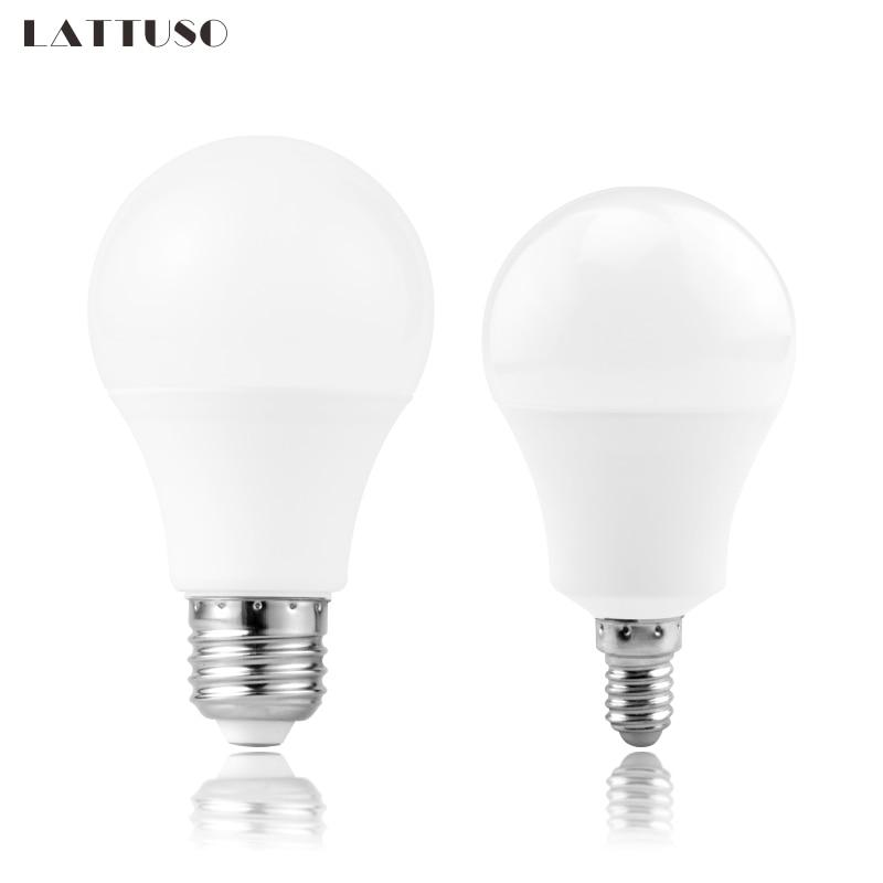 LED Bulb Lamps E27 E14 220V Light Bulb Smart IC 3W 6W 9W 12W 15W 18W 20W High Brightness Lampada LED Bombilla Spotlight