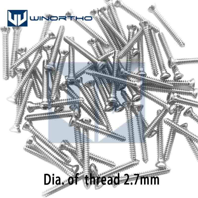 2.7mm VET Animal Veterinary Orthopedic Instruments Medical Compression Plate Bender Screw Case AO Synthes Orthopedic Animal