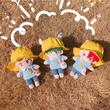 Boku no My Hero Academia Midoriya Izuku Bakugou Todoroki Cute Kindergarten DIY Change Clothes Dolls Plush Toy Dolls Cosplay Gift