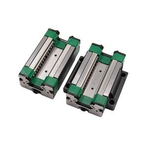 Image 3 - 4 個HGH20CA /HGW20CC HGR20 リニアガイドレールブロックマッチ使用hiwin HR20 幅 20 ミリメートルガイドcncルータ