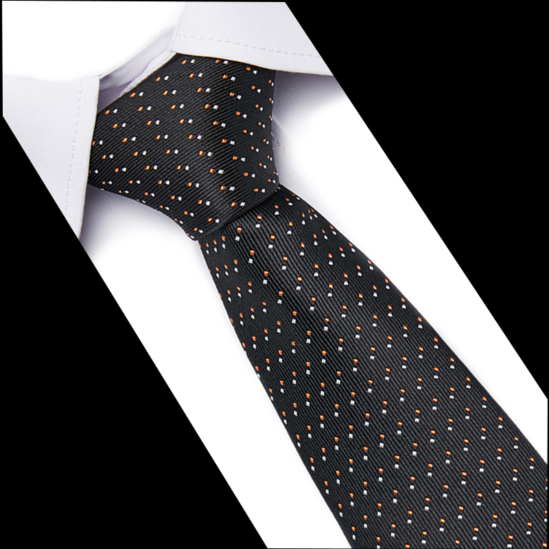 Fashion Neckties Classic Men's Stripe Blue Wedding Tie Jacquard Woven Tie 100% Silk Men Solid Tie Polka 7.5cm Neck Ties