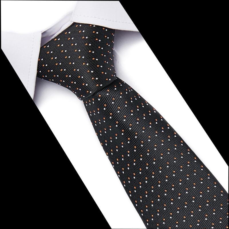 Fashion Neckties Classic Men's Stripe Blue Wedding Tie Jacquard Woven Tie 100% Silk Men Solid Tie Polka 7.5cm Neck Ties