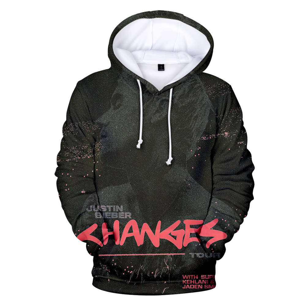 Justin Bieber Hoodie New Album Change KPOP Highstreet Cool Women Men Kids Clothes Harajuku YUMMY 2020 Hot Sale Casual Sweatshirt