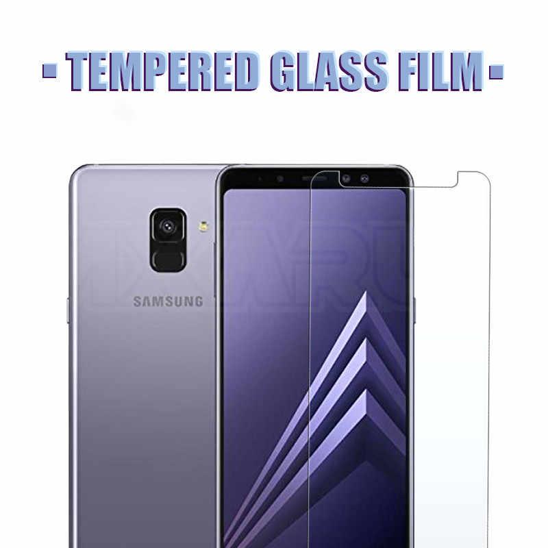 9H 強化ガラス三星銀河 A6 A8 プラス A9 2018 スクリーンプロテクター J2 J3 J7 J8 J4 j6 プラス 2018 保護ガラスフィルム