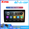 Universal 9/10.1 Inch Android 9.0 Car Multimedia Auto Radio 2Din Autoradio Gps Central Fm Car Stereo for Toyota Suzuki NISSA