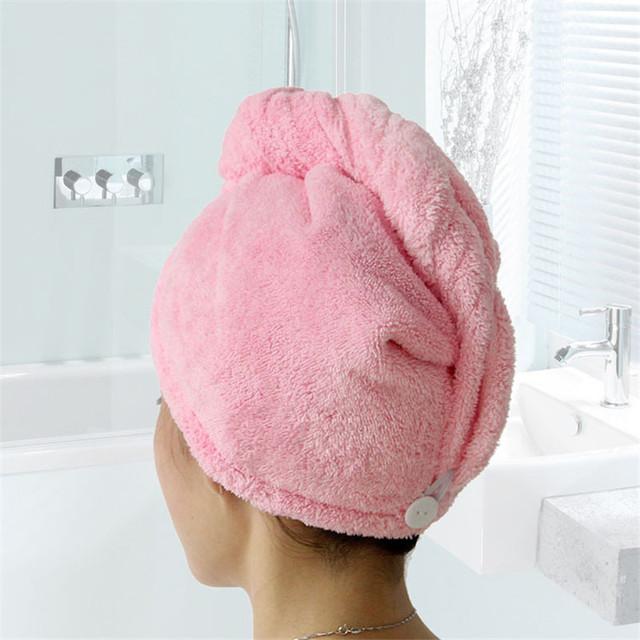 Microfiber Hair Towel