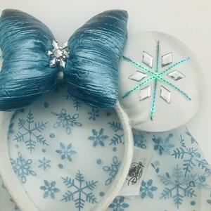 Image 2 - חדש דיסני Alsa קרח כחול קשת מיקי מיני סרט אוזני קוספליי