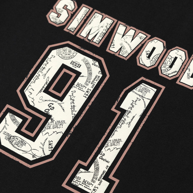 Vintage t-shirts with basketball print numbers