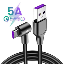 5A USB Type C Cable For Huawei P20 Lite P30 Pro Quick Charging Fast Charger USB C Cable For Samsung S10 S9 USBC Supercharge Cord quick charge 3 0 quick charger fast plug usb for charger huawei supercharge charger usb type c adapter for huawei p30 pro