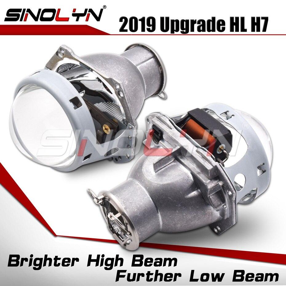 Phares lentilles HID projecteur bi-xénon pour Hella H7 3.0 ''lentille voiture accessoires rénovation utilisation H7 D2S D2H xénon halogène ampoule LED