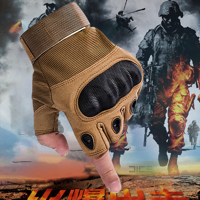 Motorcycle Leather Gloves 2