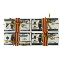 Ancestral dinheiro para queimar milhões de dólares chinês joss papel céu notas de banco fantasma dinheiro 2.95x6.1 polegadas