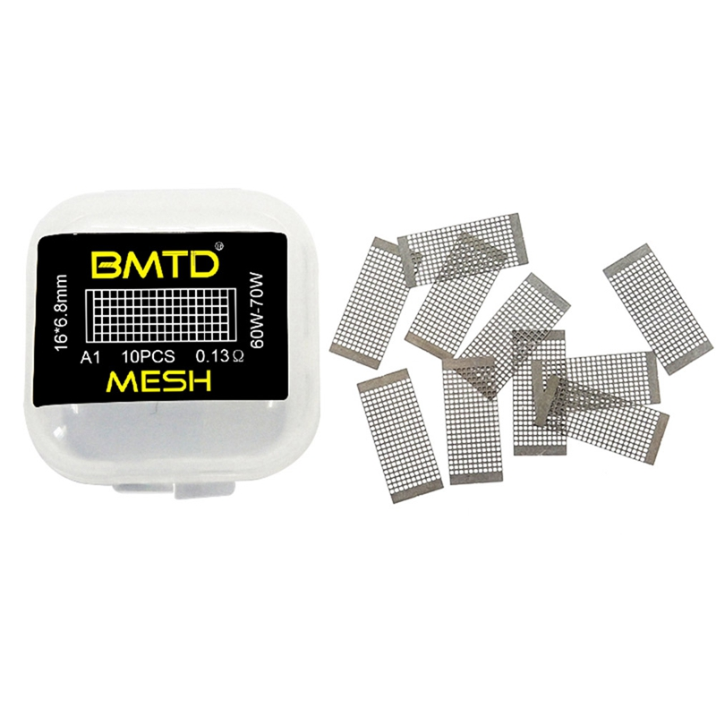 (10pcs/pack)BMTD KA1 Mesh Coil 16*6.8mm (45-65W) 10pcs - 0.18ohm Pre-built Coil For Rda Atomizer Vape Accessory