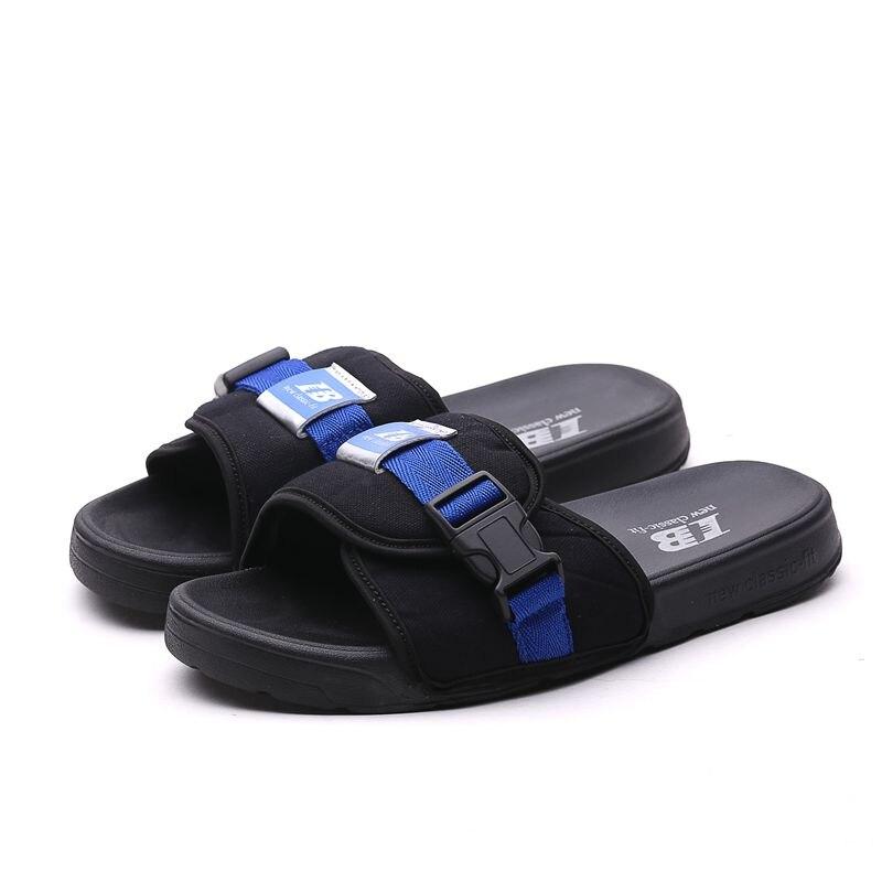 New New Arrival Men Beach Shoes Soft Man Slippers Cotton Fabric House Slippers Men Summer Beach Slippers Brand Men Travel Slipper