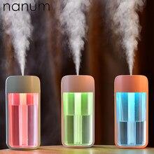 Арома эфирные масла диффузор мини ультразвуковой F1 увлажнитель воздуха очиститель светодиодный USB автомобильный освежитель воздуха тумана