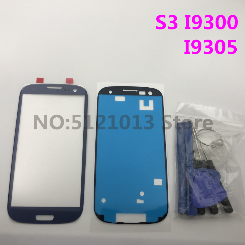 Front Outer Glass Lens replacement for Samsung Galaxy S3 GT I9300 i9305 9300i i747 LCD touch