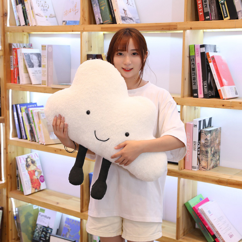 Image 3 - 25 60CM cute cloud filled plush toy pillow Creative home decoration cushion Nordic style children's room toy Birthday gift-in Plush Pillows from Toys & Hobbies