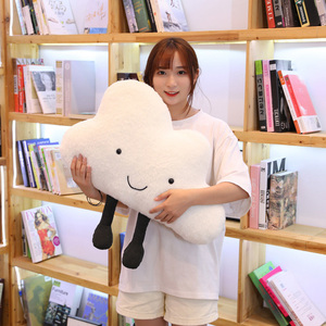 Image 3 - 25 60CM cute cloud filled plush toy pillow Creative home decoration cushion Nordic style childrens room toy Birthday gift