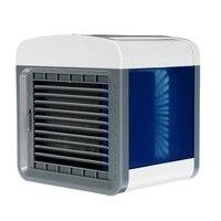 Usb mini condicionador de ar portátil umidificador purificador desktop ventilador de refrigeração de ar ventilador refrigerador de ar para o escritório em casa|Vent.|Eletrodomésticos -