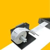 Automatic label rewinding machine barcode label two way rewinding machine 180MM