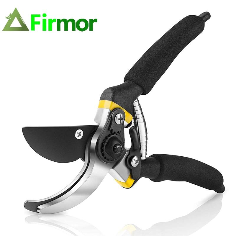 FIRMOR Professional Premium Titanium Bypass Pruning Shears Hand Gardening Plant Scissor Branch Pruner Trimmer Tools