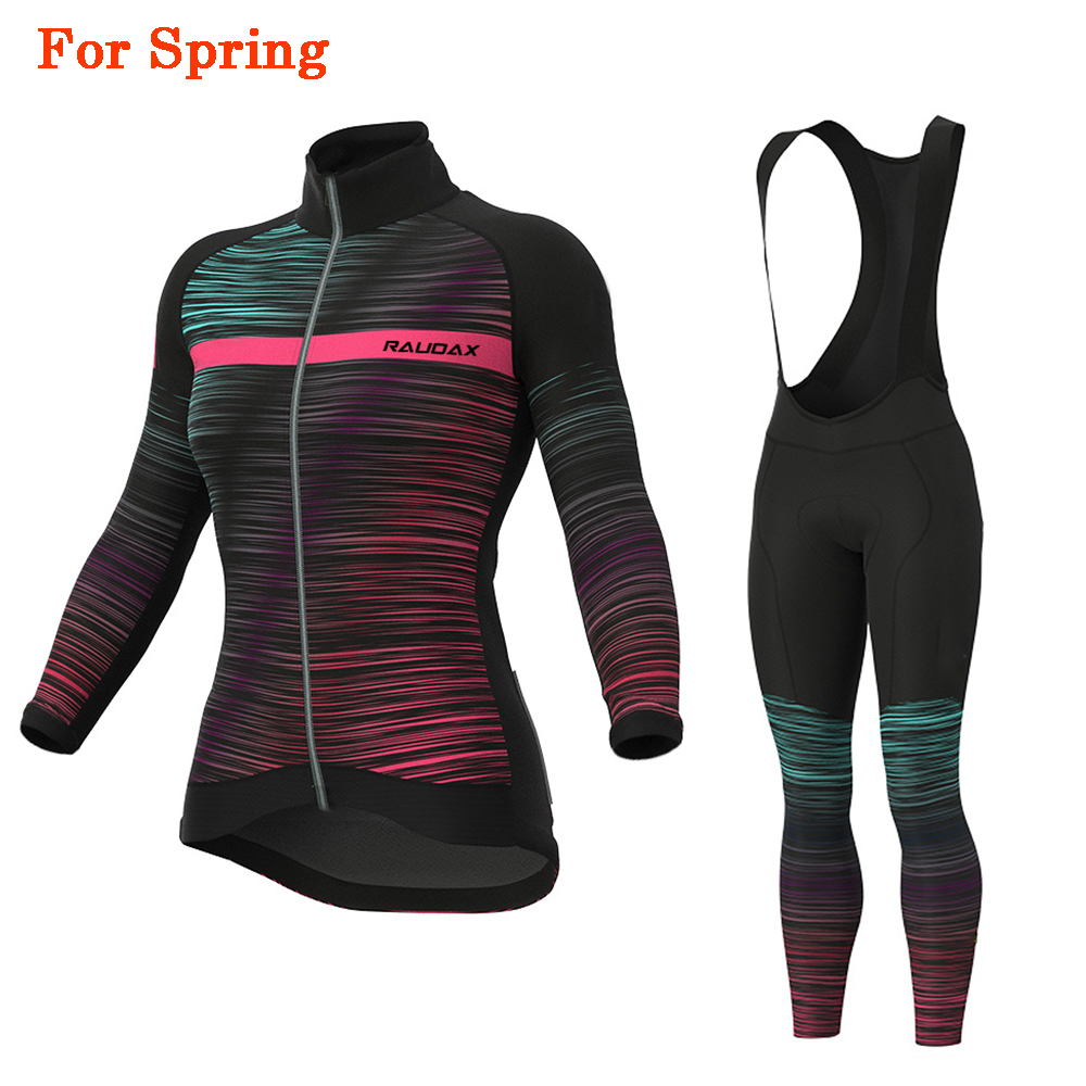 Cycling Jersey 2020 Pro Team raudax Road Bike Spring Cycling Clothing MTB Cycling Bib Pants Women Ropa Ciclismo Triathlon