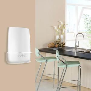 Household Clear Acrylic Wall Mount Sturdy Bracket For Netgear Orbi WiFi Router RBS40, RBK40, RBS50, RBK50, AC2200, AC3000()