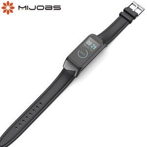 Image 1 - Milanese Strap for Amazfit Cor 2 pulseira Smart Band Leather Wrist Strap Bracelet for Xiaomi Huami Amazfit Cor 2 Wriststrap