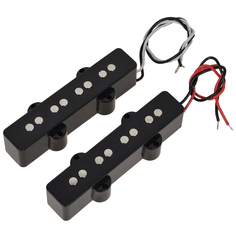 Jb Bass Guitar Pickups Open Style Pickups Set Neck & Bridge For 4 String J Bass Guitar Part