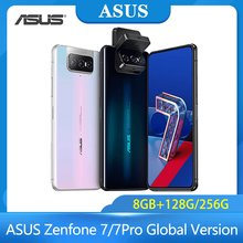 ASUS Zenfone 7/7Pro versión Global 8GB RAM 128G/256GB ROM Snapdragon 865/865 más 5000mAh NFC Android Q 90Hz 5G teléfono inteligente