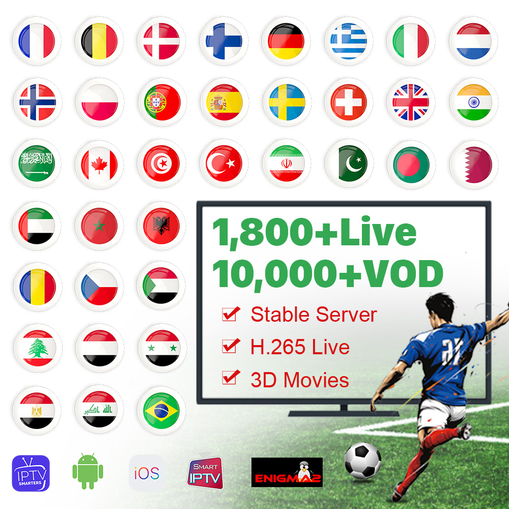 IPTV M3U France Arabic Germany IPTV Code QHDTV French Italy <font><b>Belgium</b></font> IPTV Subscription France Spain UK Algeria Netherlands IP TV image
