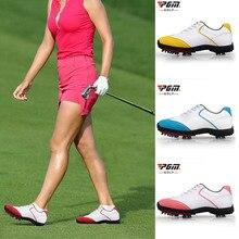 Новинка; водонепроницаемая обувь для гольфа; женская спортивная обувь для активного отдыха; стильная женская обувь с перфорацией типа «броги»; S66