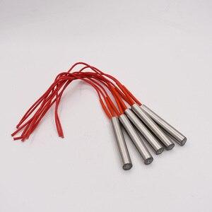 Image 2 - Darmowa wysyłka 12mm rurka ze stali nierdzewnej średnica grzałka patronowa 40 200mm długość 220V elektryczny Element grzejny grzejnik rurowy
