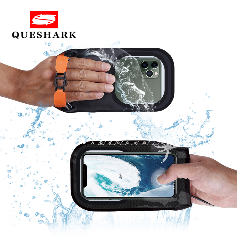 2020 New Mobile Phone Waterproof Swimming Bag Membrane Diving Rafting Boating Diving Phone Bag Case For Under 7 Inches