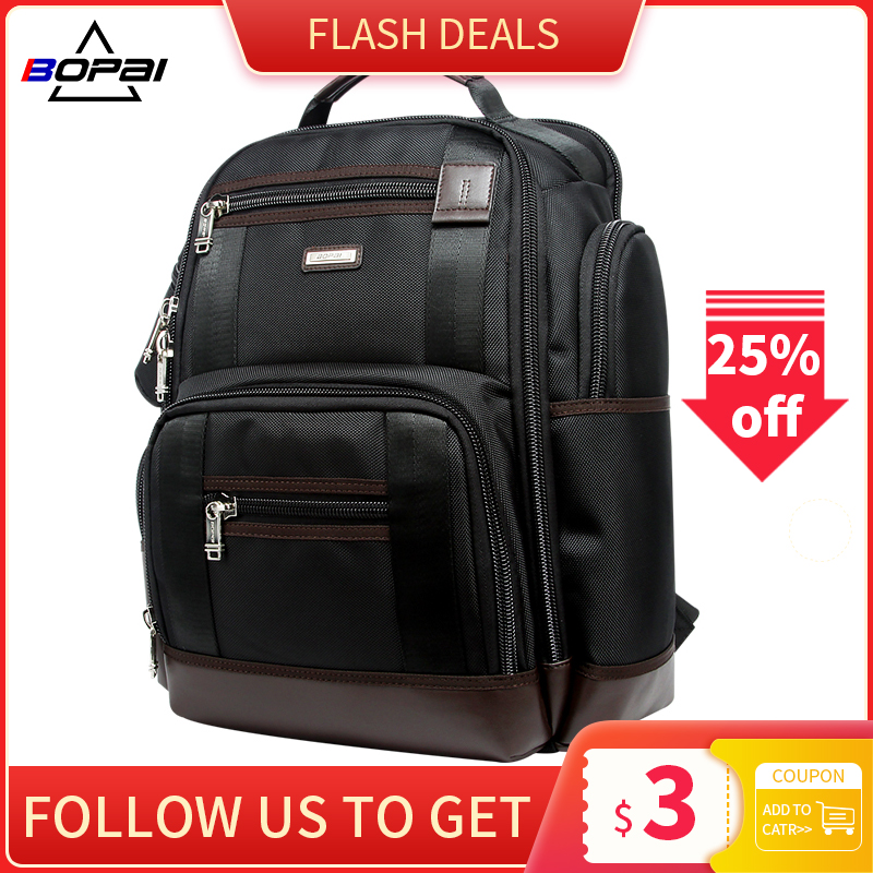 American Famous Brand Multi Pockets Men Backpack Large Capacity Weekend Travel Back Pack Business Men's Super Backpack Male Bag