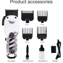 Парикмахерская Машинка для стрижки волос 110-240 В профессиональная электрическая машинка для стрижки волос дизайн режущая машина для мужчин