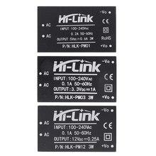10 adet HLK PM01 HLK PM03 HLK PM12 AC DC 220V için 5V/3.3V/12V mini güç kaynağı modülü, akıllı ev anahtarı güç modülü