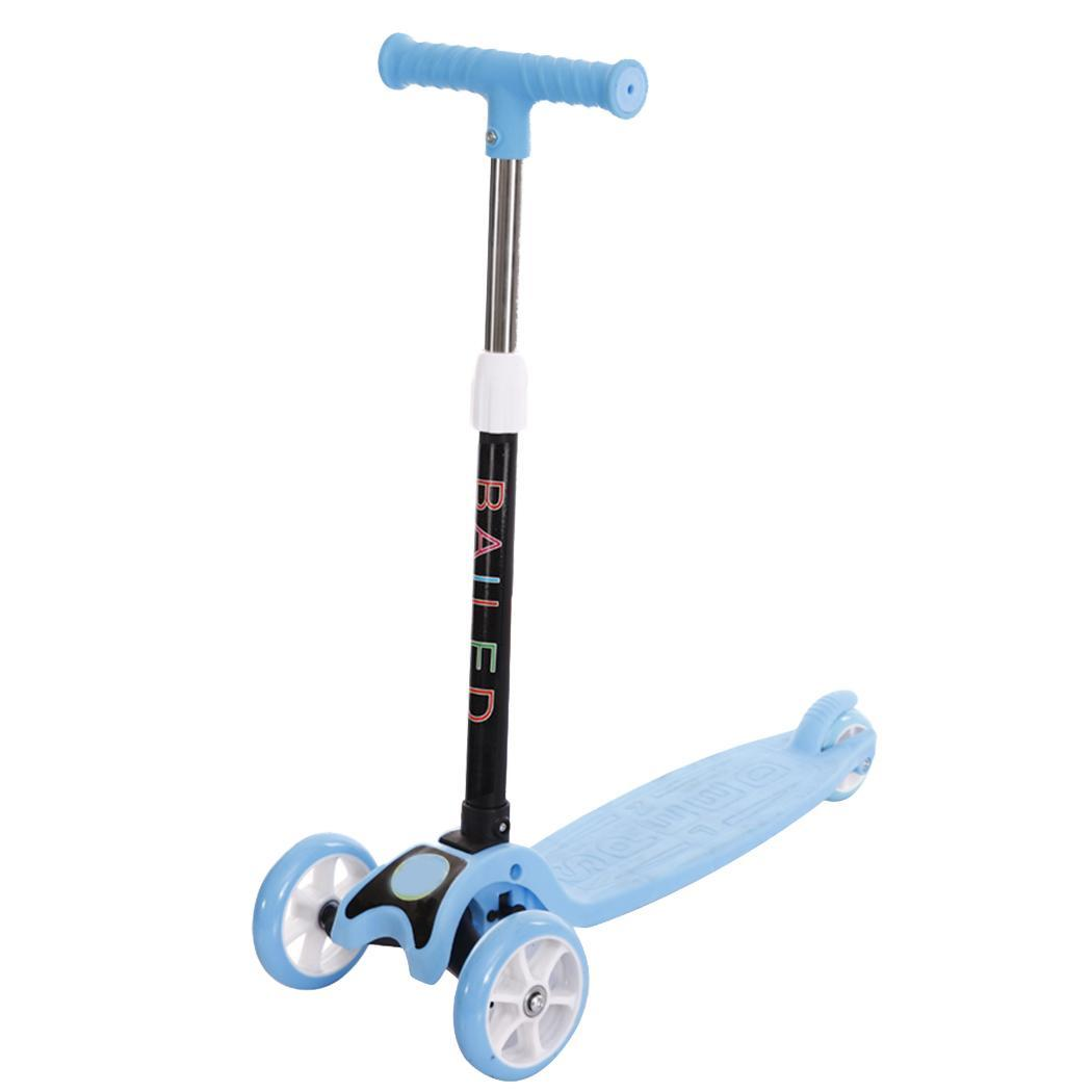 Детский гироскутер, детский Легкий Скутер, детский трехколесный складной велосипед, слайдер, вспышка, 3 тура, игрушки на открытом воздухе, на...