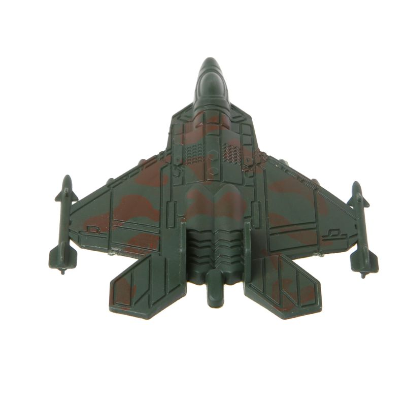 Plastic Military Airplane Fighter Model Kids Simulation Plane Toy Collection Decoration Y4QA image